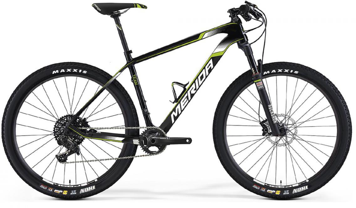 Велосипед горный Merida Big.Seven 6000 2016, цвет: черный, рама 15, колесо 27,5254974