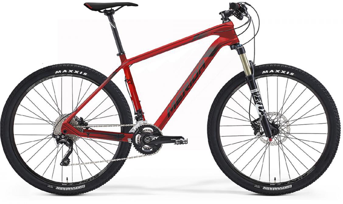 Велосипед горный Merida Big.Seven XT 2016, цвет: красный, рама 18,5, колесо 27,5254986