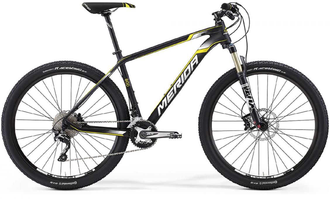 Велосипед горный Merida Big.Seven 800 2016, цвет: черный, рама 13,5, колесо 27,5255008