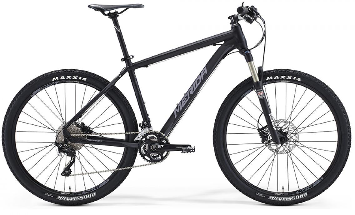 Велосипед горный Merida Big.Seven XT-edition 2016, цвет: черный, рама 23, колесо 27,5255021
