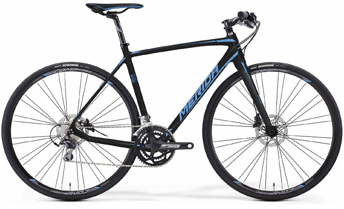 Велосипед шоссейный Merida Speeder 3000 2016, цвет: черный, рама 14,5, колесо 28255027