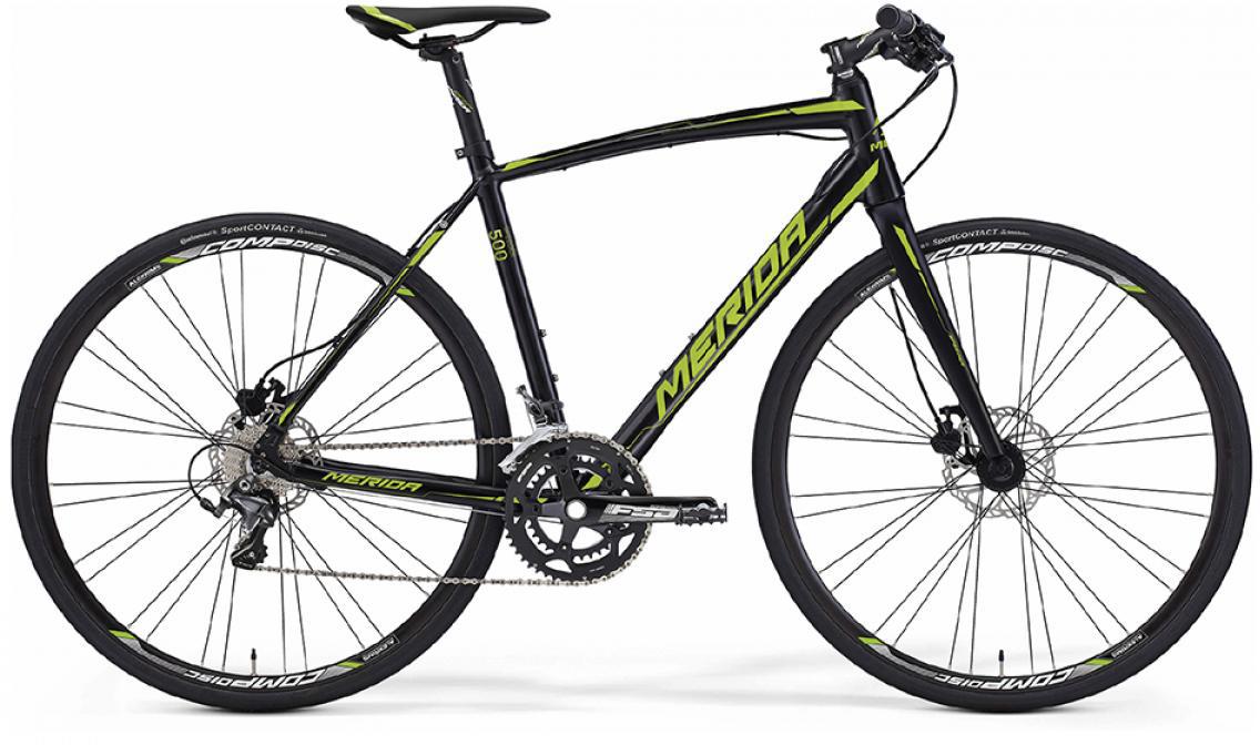 Велосипед шоссейный Merida Speeder 500 2016, цвет: черный, рама 18,5, колесо 28255032