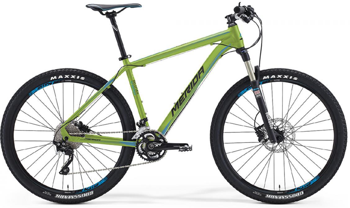 Велосипед горный Merida Big.Seven XT-edition 2016, цвет: зеленый, рама 17, колесо 27,5255050