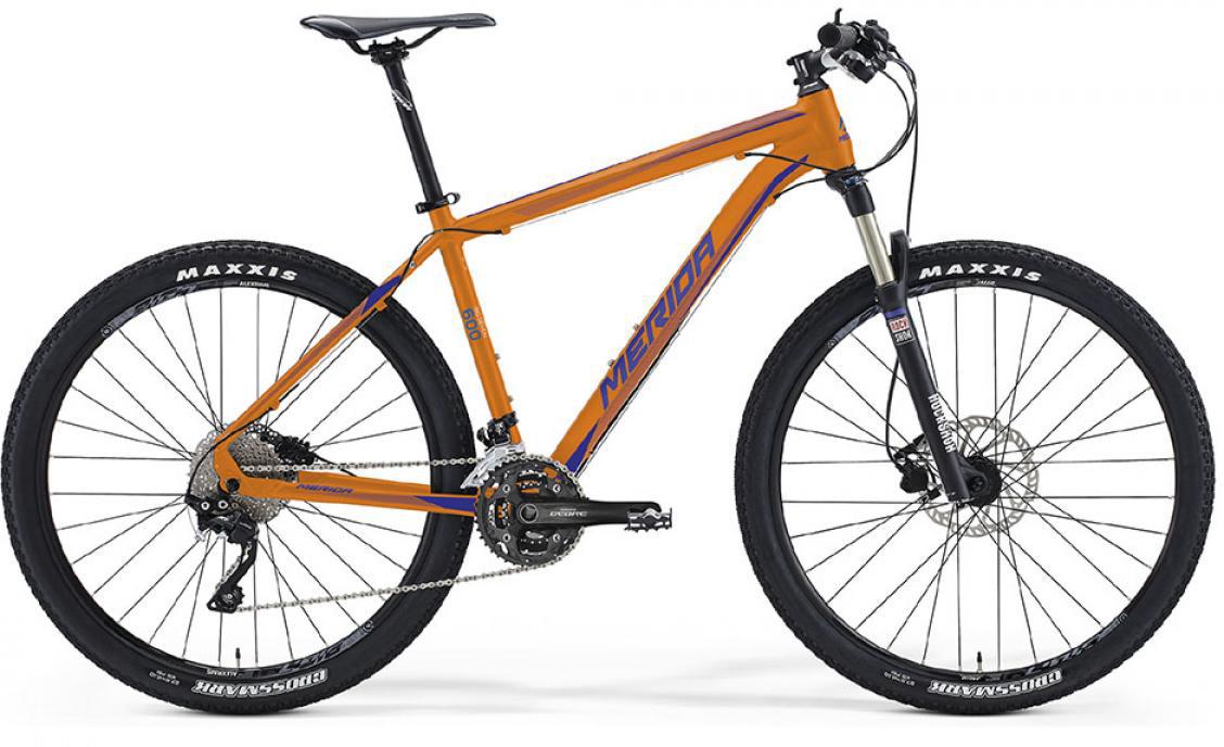 Велосипед горный Merida Big.Seven 600 2016, цвет: оранжевый, рама 20, колесо 27,5255064