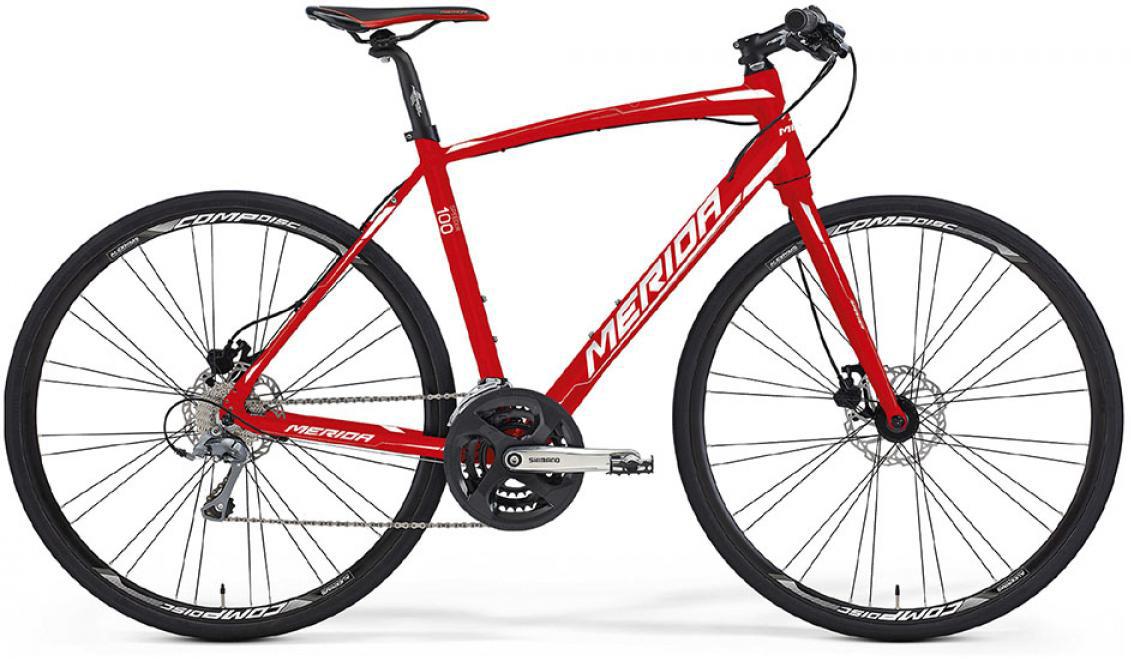 Велосипед шоссейный Merida Speeder 100 2016, цвет: красный, рама 23, колесо 28255075