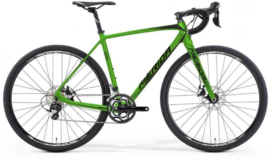 Велосипед шоссейный Merida Cyclo Cross 5000 2016, цвет: зеленый, рама 16, колесо 28255101