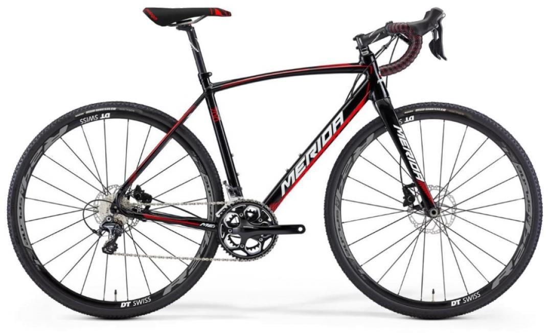 Велосипед шоссейный Merida Cyclo Cross 700 2016, цвет: черный, рама 18,5, колесо 28255105