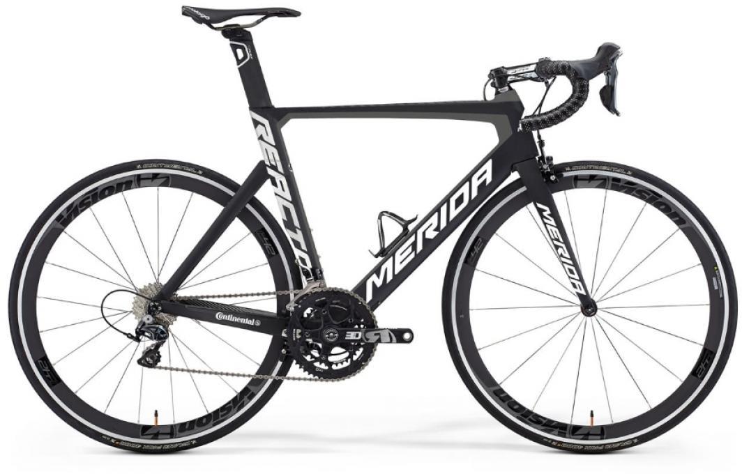 Велосипед шоссейный Merida Reacto DA LTD 2016, цвет: черный, рама 20, колесо 28255130