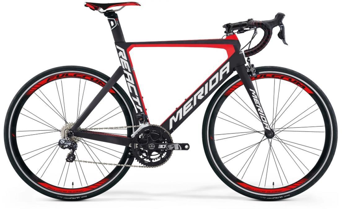Велосипед шоссейный Merida Reacto 7000-E 2016, цвет: черный, рама 22, колесо 28255139
