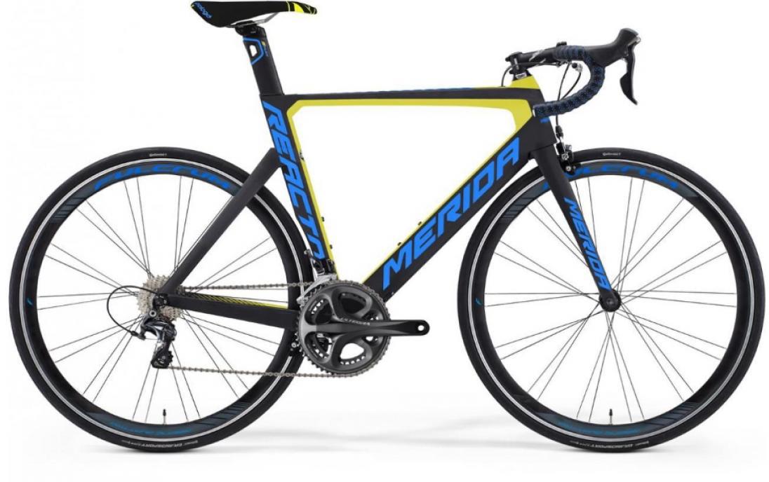 Велосипед шоссейный Merida Reacto 6000 2016, цвет: черный, рама 22, колесо 28255145