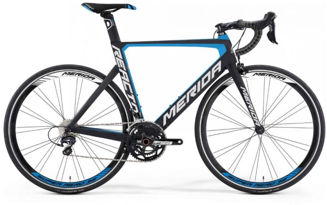Велосипед шоссейный Merida Reacto 5000 2016, цвет: синий, рама 21,5, колесо 28255156