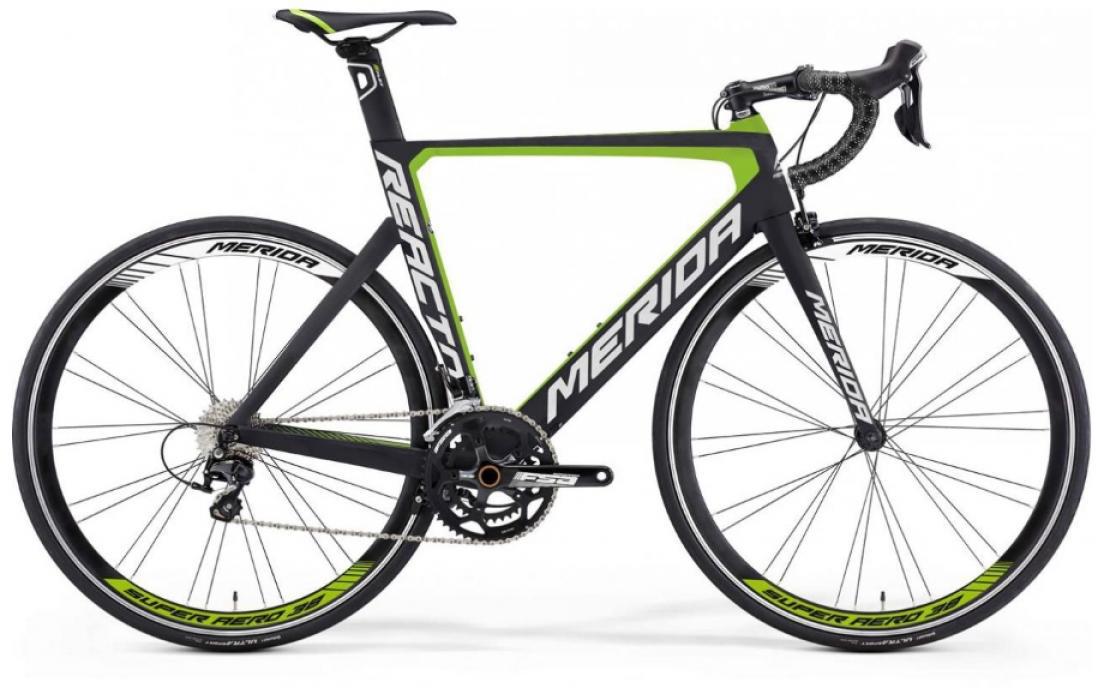 Велосипед шоссейный Merida Reacto 4000 2016, цвет: зеленый, рама 23, колесо 28255170