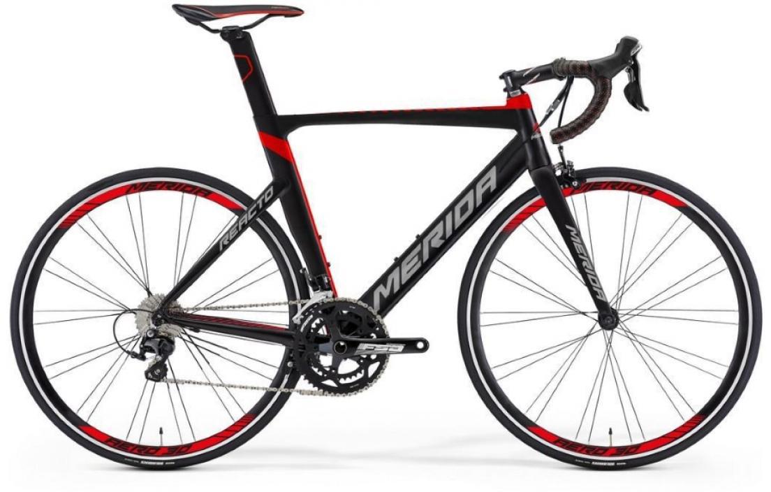 Велосипед шоссейный Merida Reacto 400 2016, цвет: красный, рама 21,5, колесо 28255186