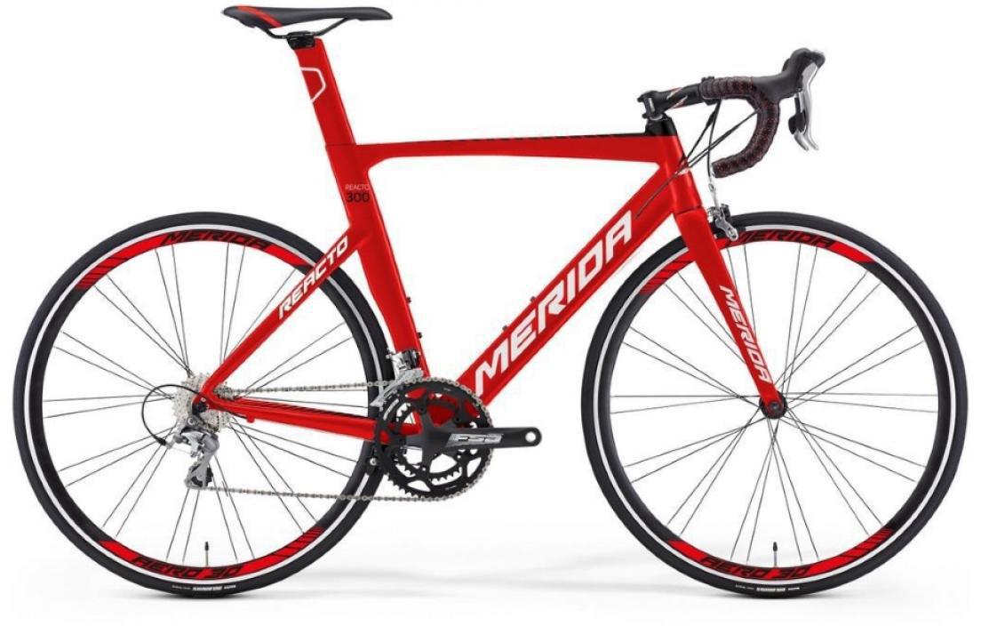 Велосипед шоссейный Merida Reacto 300 2016, цвет: красный, рама 20,5, колесо 28255191