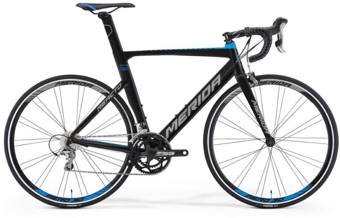 Велосипед шоссейный Merida Reacto 300 2016, цвет: черный, рама 18,5, колесо 28255195