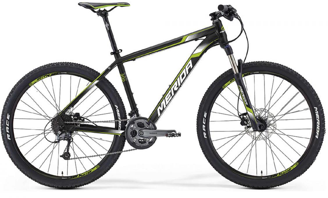 Велосипед горный Merida Big.Seven 300 2016, цвет: черный, рама 21,5, колесо 27,5255212