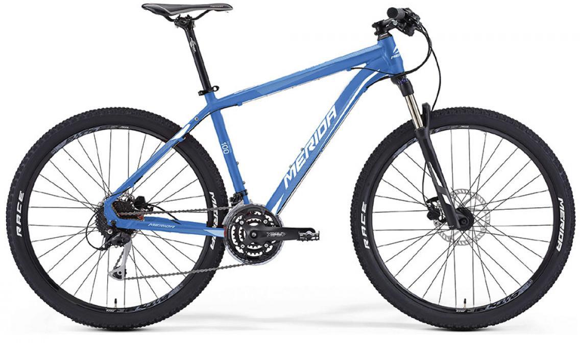 Велосипед горный Merida Big.Seven 100 2016, цвет: синий, рама 13,5, колесо 27,5255221