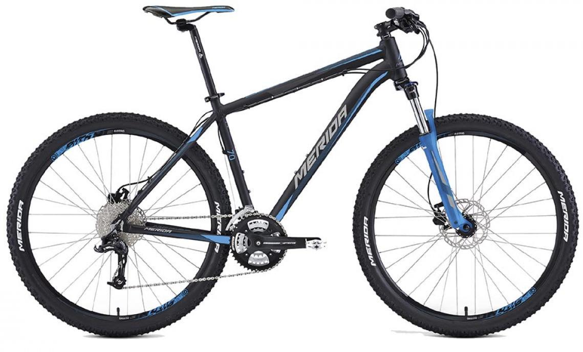 Велосипед горный Merida Big.Seven 70 2016, цвет: черный, рама 21,5, колесо 27,5255240