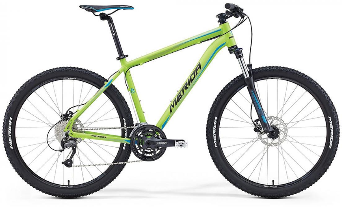 Велосипед горный Merida Big.Seven 40-D 2016, цвет: зеленый, рама 15, колесо 27,5255250