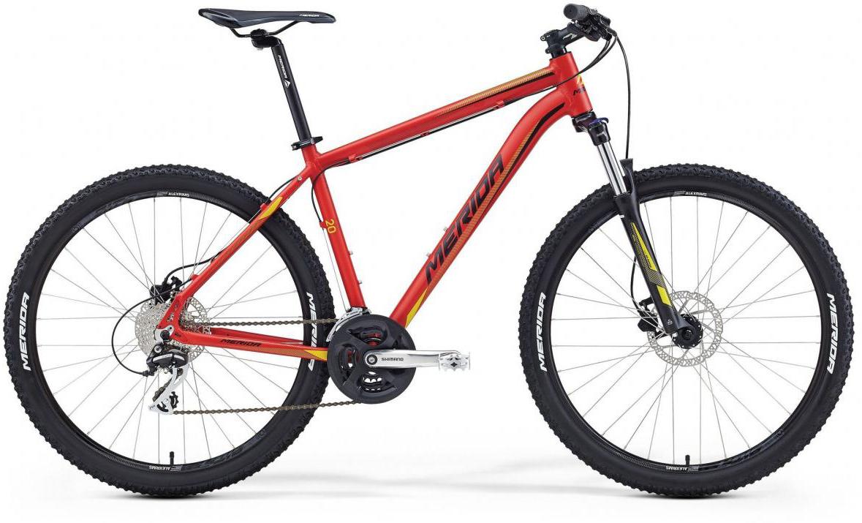 Велосипед горный Merida Big.Seven 20-D 2016, цвет: красный, рама 23, колесо 27,5255262