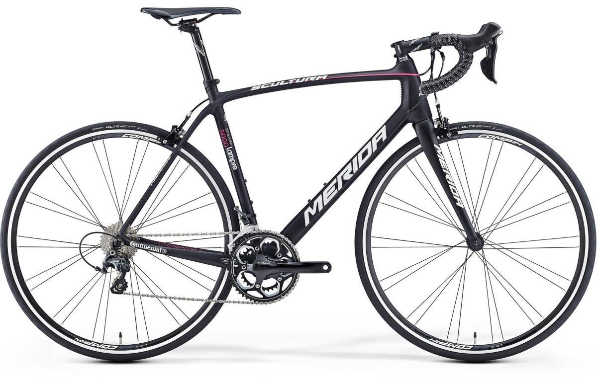 Велосипед шоссейный Merida Scultura 5000 2016, цвет: черный, рама 19,5, колесо 28255300