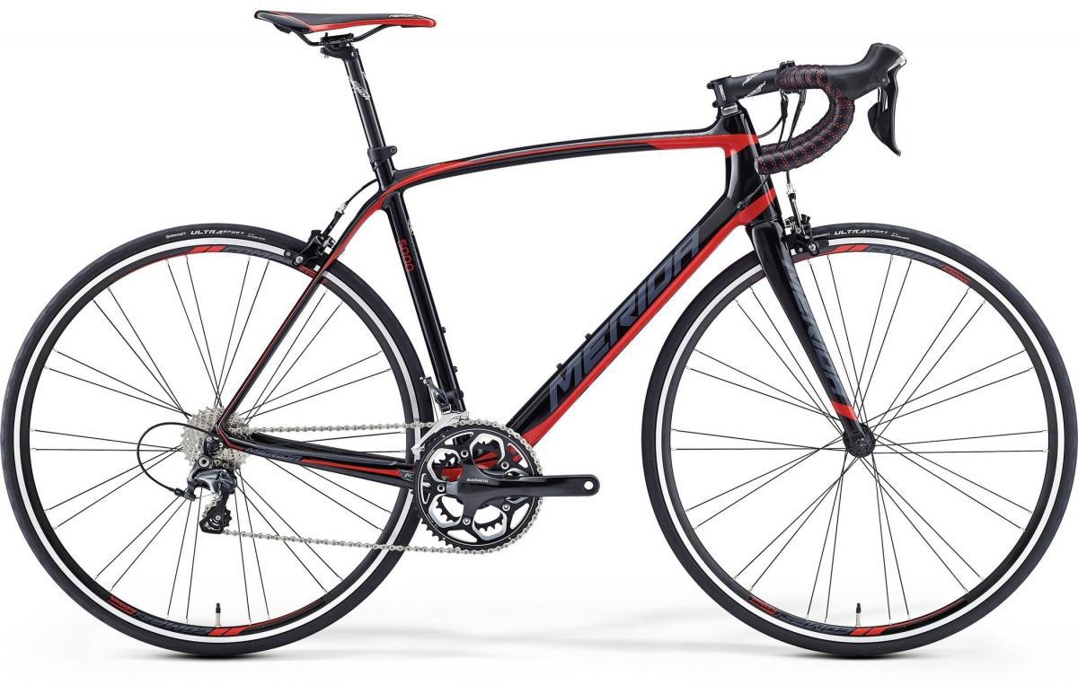 Велосипед шоссейный Merida Scultura 5000 2016, цвет: красный, рама 19,5, колесо 28255307