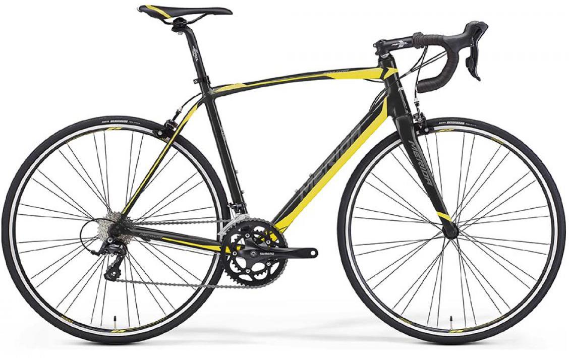 Велосипед шоссейный Merida Scultura 200 2016, цвет: желтый, рама 19,5, колесо 28255356