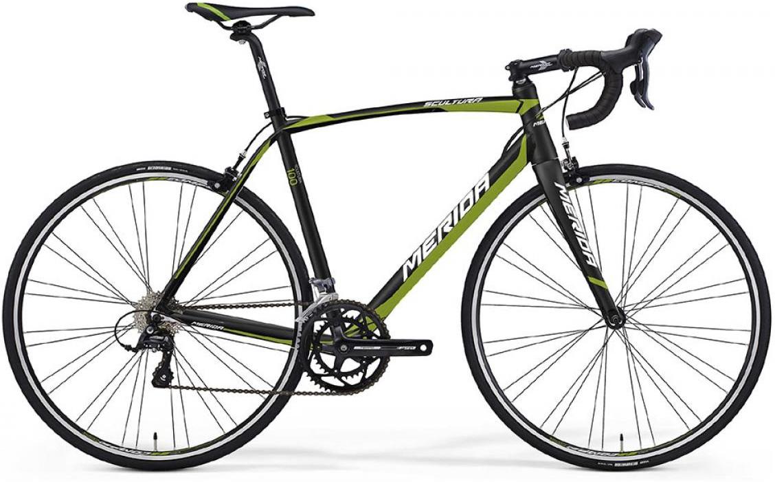 Велосипед шоссейный Merida Scultura 100 2016, цвет: черный, рама 21,5, колесо 28255372