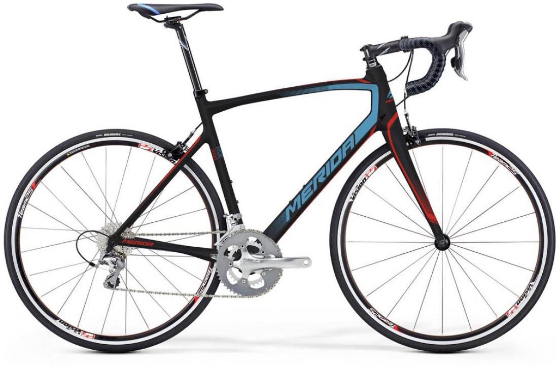 Велосипед шоссейный Merida Ride 3000 2016, цвет: черный, рама 21,5, колесо 28. 255409255409