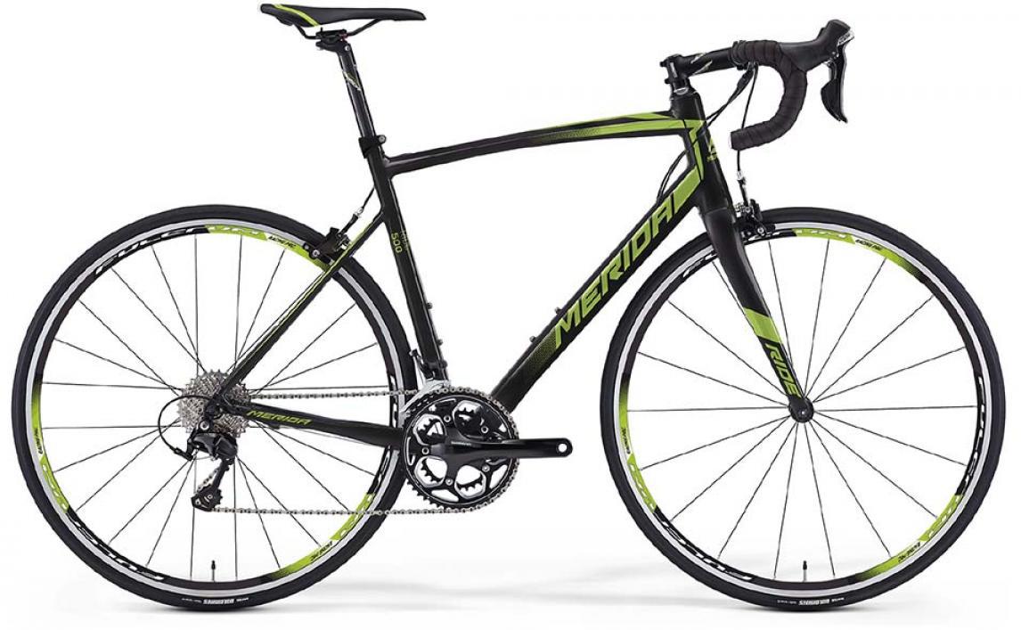 Велосипед шоссейный Merida Ride 500 2016, цвет: черный, рама 23, колесо 28255419