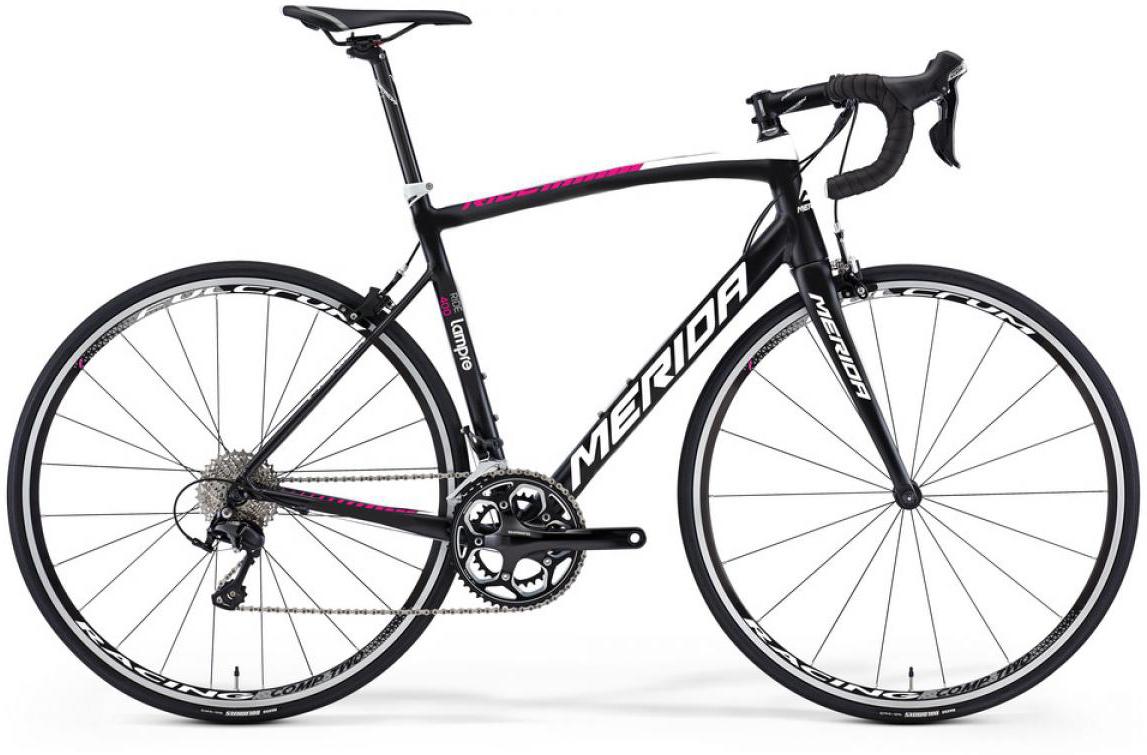 Велосипед шоссейный Merida Ride 400 2016, цвет: черный, рама 17,5, колесо 28255421