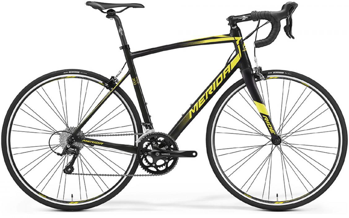 Велосипед шоссейный Merida Ride 200 2016, цвет: черный, рама 17,5, колесо 28255455