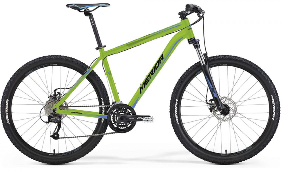 Велосипед горный Merida Big.Seven 40-MD 2016, цвет: зеленый, рама 23, колесо 27,5255512