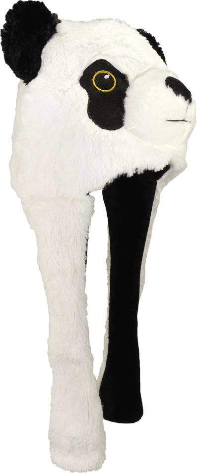 Шапка для девочек Ignite, цвет: белый. B-9901. Размер универсальныйB-9901Шапка ПАНДА с длинными ушками. Внутри есть подкладка. Очаровательный аксессуар для юной бунтарки.