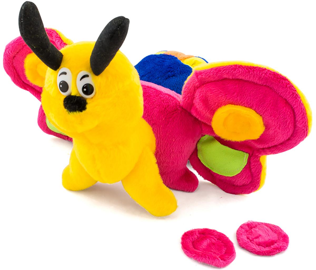 PicnMix Развивающая игрушка Гусеница-бабочка Веселые застежки picnmix обучающая игра веселые пришельцы