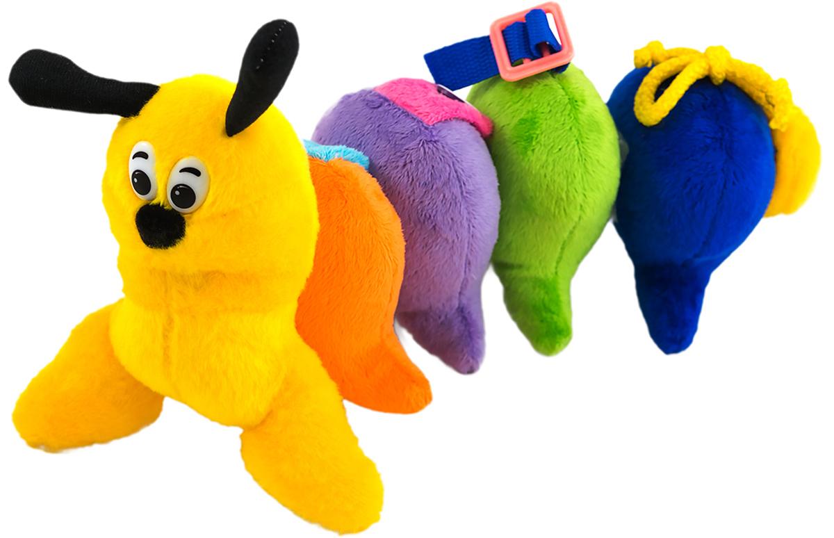 PicnMix Развивающая игрушка Гусеничка Веселые застежки - Игрушки для малышей