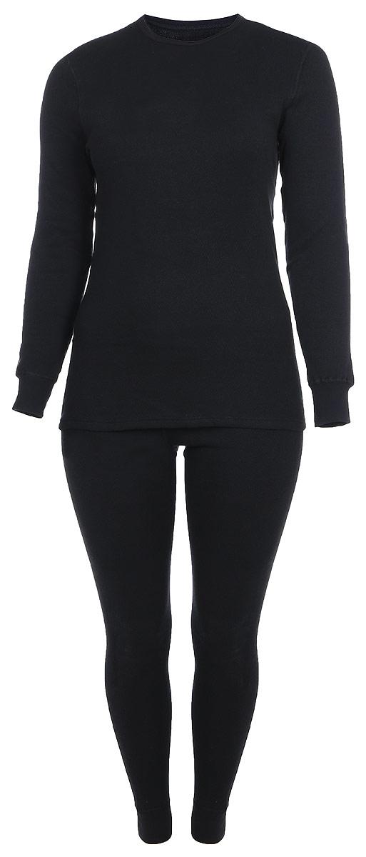 Комплект термобелья Dr. Wool: футболка с длинным рукавом, брюки, цвет: черный. DWLB 30102. Размер 58/60DWLB 30102Комплект термобелья Dr. Wool, состоящий из футболки с длинным рукавом и брюк, незаменим в холодную погоду. Комплект изготовлен из мягкой мериносовой шерсти. Его можно носить каждый день под повседневной одеждой. Плоские швы не натирают кожу, сохраняя мягкость и комфорт изделия. Структура материала испаряет влагу, нейтрализует неприятный запах, позволяет телу дышать. Благодаря температурному контролю, белье не допускает не только переохлаждения, но и перегрева тела. Уникальная обработка материала делает возможной машинную стирку, не приводя к усадке или деформации изделия.