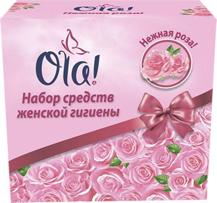 Набор Ola! Роза, 100 шт11830Ola! - это высококачественные средства женской гигиены.Ультратонкие прокладки Ola! Нежная роза и Ola! Бархатистая сеточка имеют поверхность-сеточку, которая обеспечивает самую надежную защиту. Современные технологии - поверх сеточки нанесен тончайший бархатистый материал, который укрывает сеточку и не дает при ношении ощущения плёнки. Футляр для прокладок в подарок!