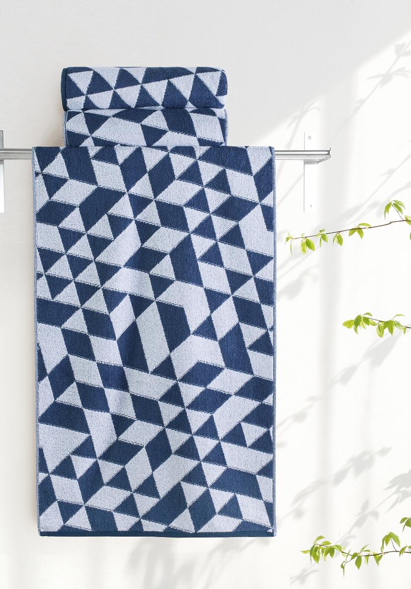 Полотенце банное Aquarelle Орион 3, цвет: белый, темно-синий, 70 х 140 см. 713037713037Банное полотенце Aquarelle Орион 3 выполнено из махровой ткани и оформленогеометрическим принтом. Изделие отлично впитывает влагу, быстро сохнет,сохраняет яркость цвета и не теряет форму даже после многократных стирок.Такое полотенце оченьпрактично инеприхотливо в уходе.