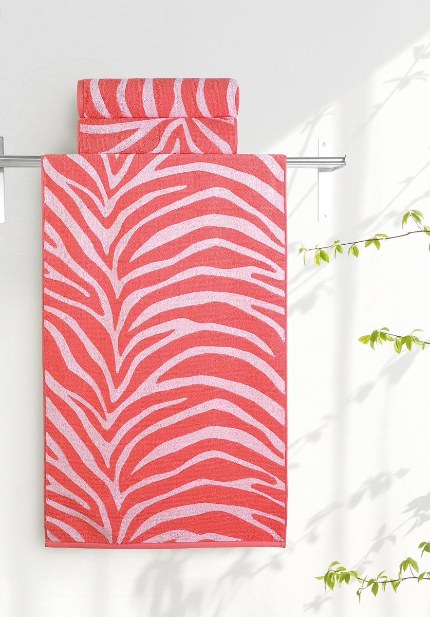 Полотенце банное Aquarelle Мадагаскар. Зебра, цвет: белый, коралловый, 70 х 140 смВТY-10435090Банное полотенце Aquarelle Мадагаскар выполнено из махровой ткани, оформлено принтом зебра. Изделие отлично впитывает влагу, быстро сохнет, сохраняет яркость цвета и не теряет форму даже после многократных стирок.Такое полотенце очень практично инеприхотливо в уходе.