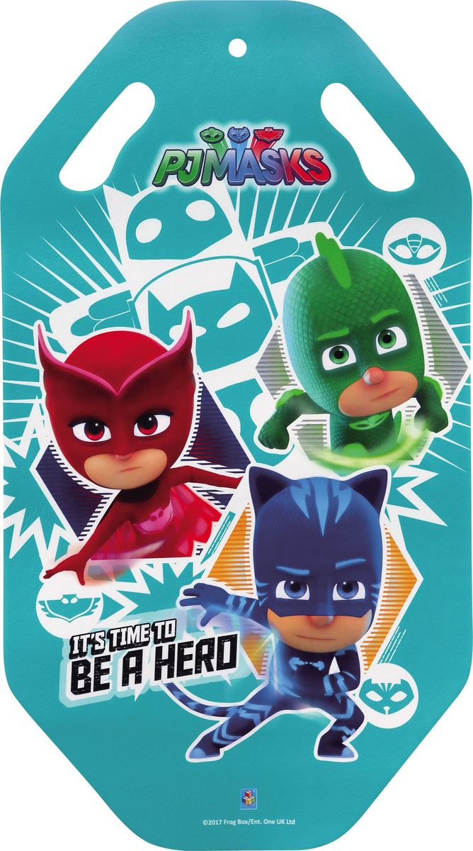 Ледянка 1TOY PJ Masks, 92 см ледянка 92см cut the rope 1toy