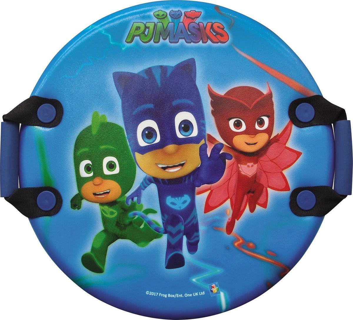Ледянка 1TOY PJ Masks, с ручками, 54 смТ10585Ледянка для любителей зимних спортивных развлечений с любимыми героями. Она подарит много радостных моментов вашему малышу. Ледянка красочно оформлена любимыми персонажами, и она легкая.Зимние игры на свежем воздухе. Статья OZON Гид