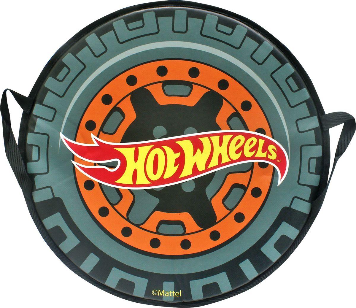 Ледянка 1TOY Hot Wheels, 52 смТ10604Ледянка для любителей зимних спортивных развлечений с любимыми героями. Она подарит много радостных моментов вашему малышу. Ледянка красочно оформлена любимыми персонажами, и она легкая.Зимние игры на свежем воздухе. Статья OZON Гид
