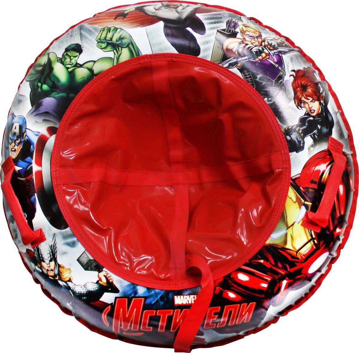 Тюбинг 1TOY Marvel. Мстители, с тросом, 85 см