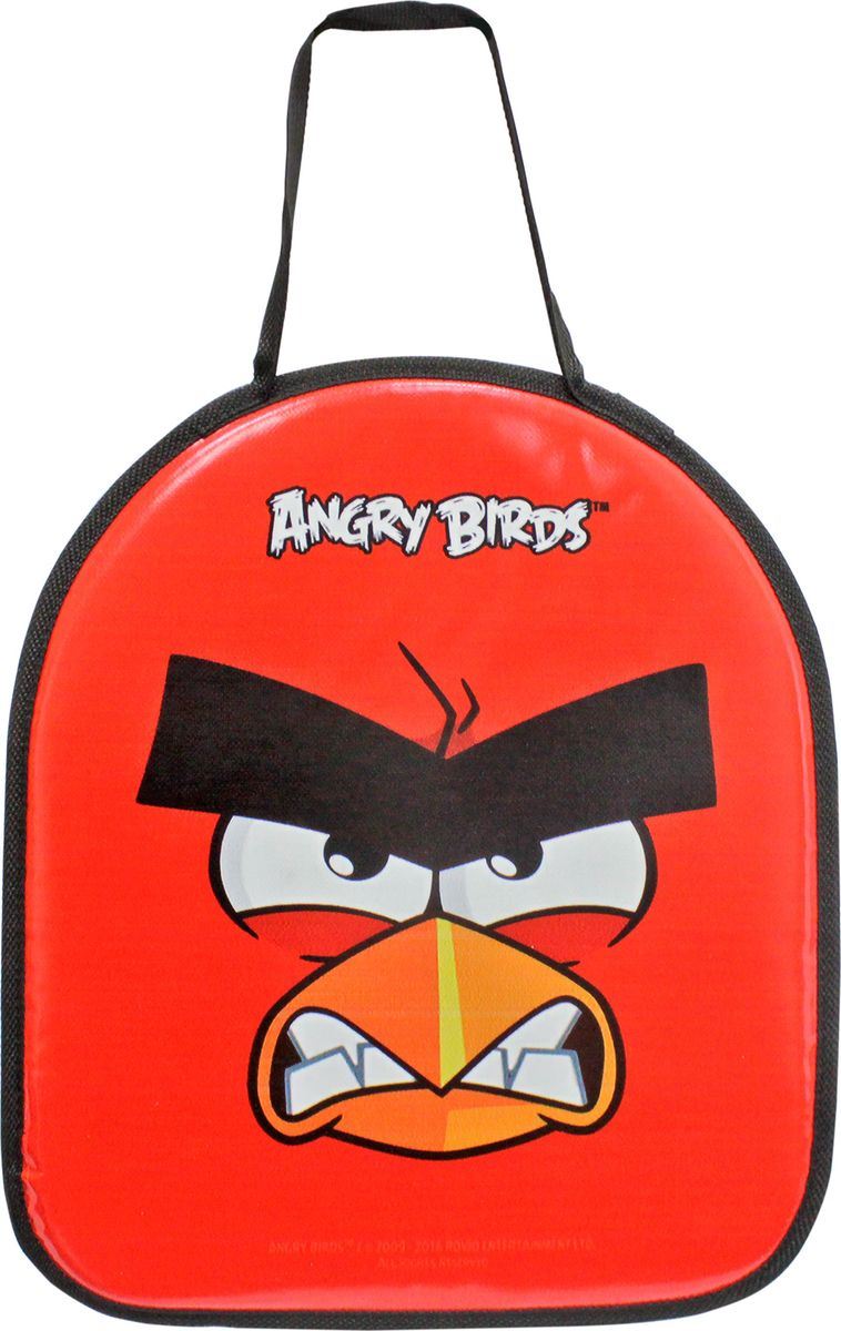 Ледянка 1TOY Angry Birds, 42 х 38 смТ59205Ледянка для любителей зимних спортивных развлечений с героями любимого мультфильма. Она подарит много радостных моментов вашему малышу. Ледянка красочно оформлена персонажами любимого мультфильма, и она легкая.Зимние игры на свежем воздухе. Статья OZON Гид