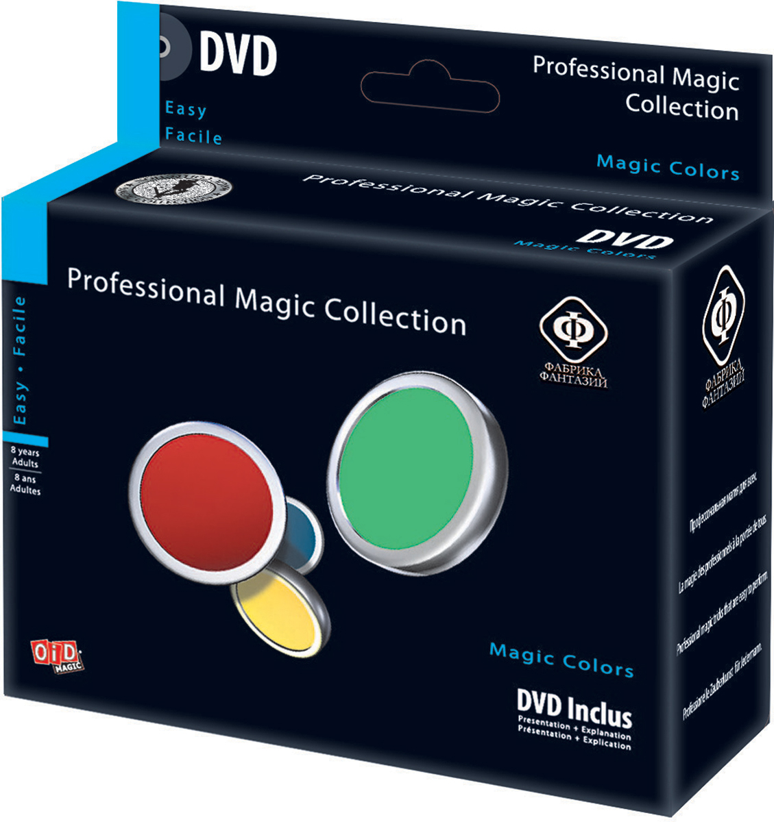 Фабрика Фантазий Набор для фокусов Волшебные цвета с обучающим диском