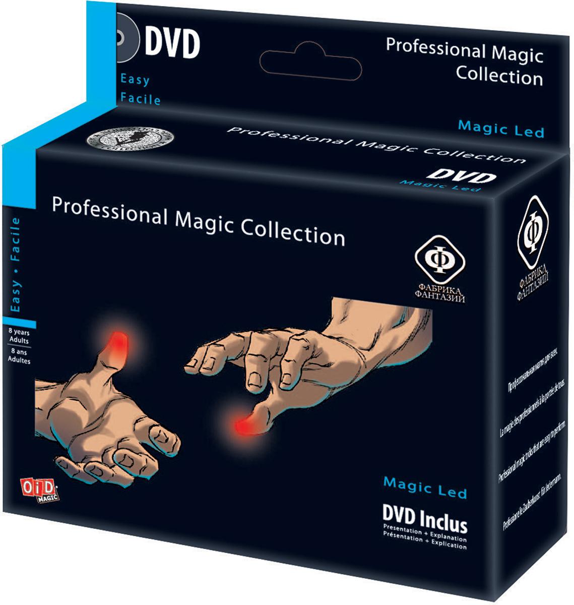 Фабрика Фантазий Набор для фокусов Волшебные пальчики с обучающим диском