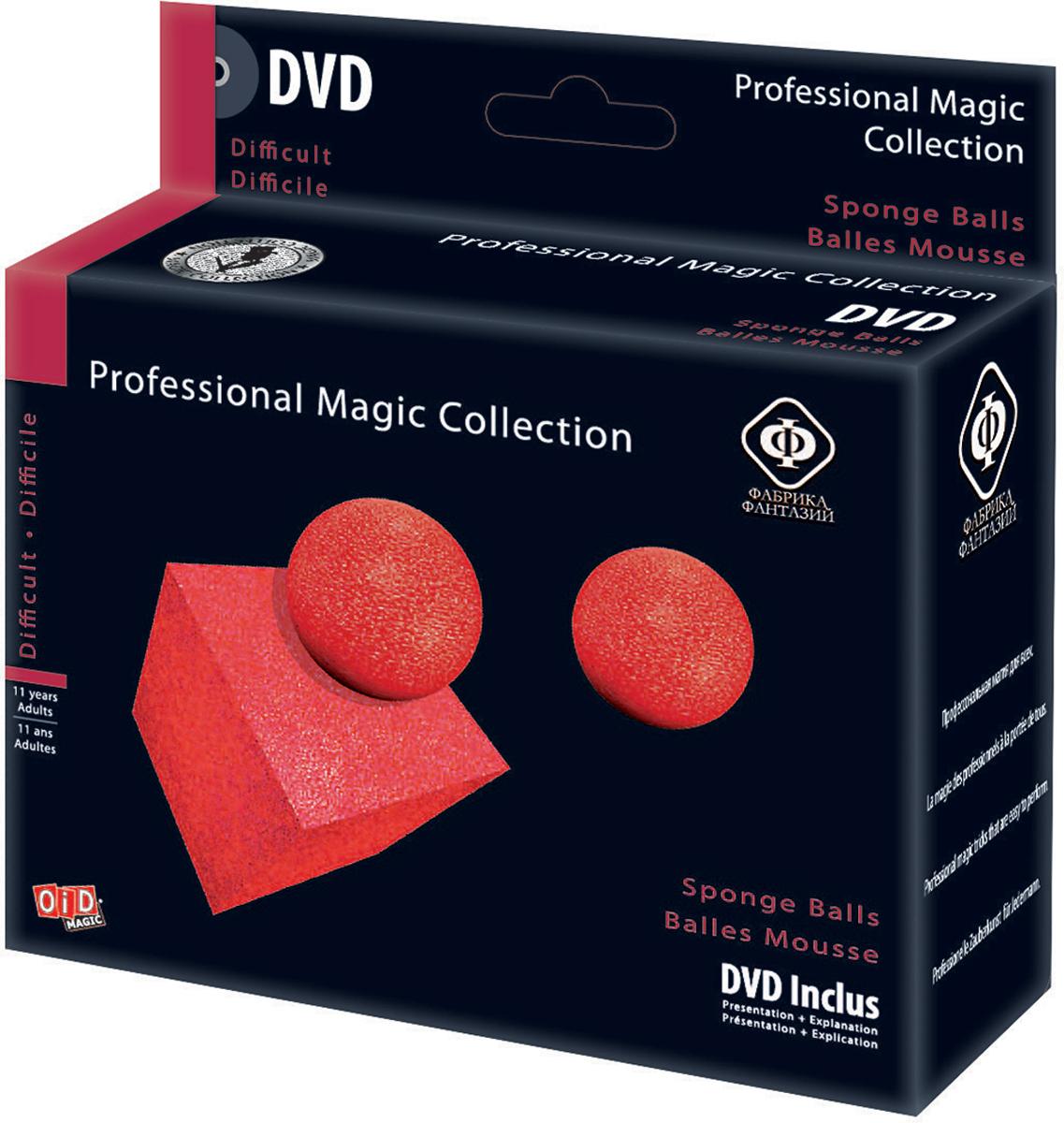 Фабрика Фантазий Набор для фокусов Волшебные шарики с обучающим диском