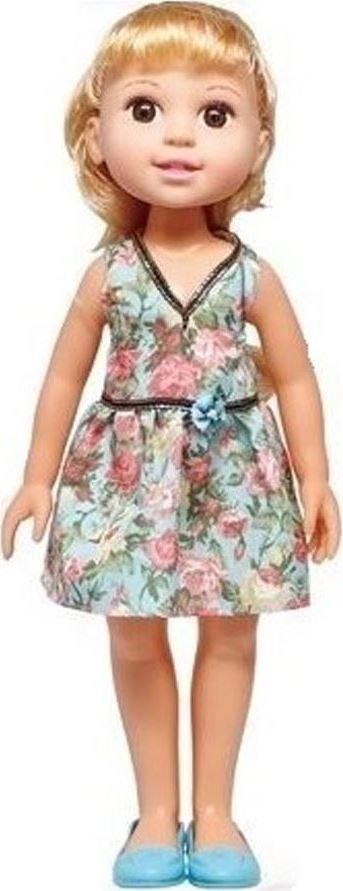 1TOY Кукла Красотка Летняя прогулка, брюнетка в голубом платье 1toy кукла красотка фэшн с одеждой цвет платья оранжевый