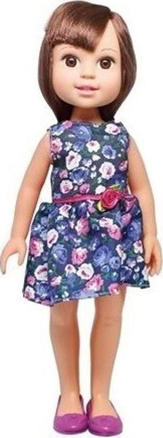 1TOY Кукла Красотка Летняя прогулка, брюнетка в синем платье 1toy кукла красотка фэшн с одеждой цвет платья оранжевый